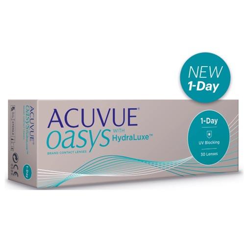 Фото - Acuvue Однодневные контактные линзы Acuvue Oasys with HydraLuxe 30 шт (Acuvue, Однодневные линзы) платье coccodrillo одежда повседневная на каждый день