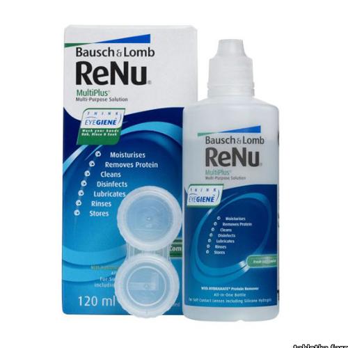 ReNu Универсальный раствор для линз Multiplus 120 мл (ReNu, Multiplus)