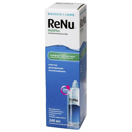 ReNu Мультиплюс раствор для ухода за контактными линзами 240мл (ReNu, Multiplus)