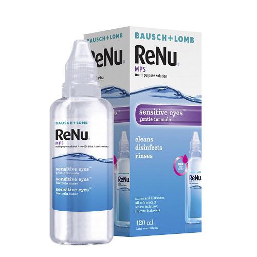 ReNu Универсальный раствор для линз MPS 120 мл (ReNu, MPS)