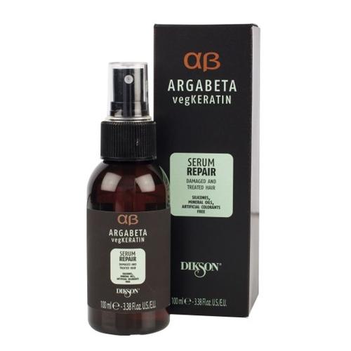 Купить Dikson Сыворотка для ослабленных и химически обработанных волос с гидролизированными протеинами риса и сои Repair 100 мл (Dikson, Argabeta)