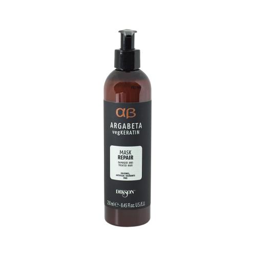 Купить Dikson Маска для ослабленных и химически обработанных волос с гидролизированными протеинами риса и сои Repair 250 мл (Dikson, Argabeta)