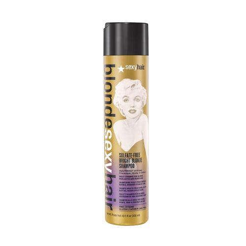 Sexy Hair Шампунь корректирующий Сияющий Блонд без сульфатов 300 мл (Sexy Hair, Blonde Sexy Hair)