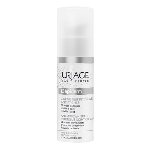 Uriage Интенсивный ночной крем против пигментных пятен 30 мл (Uriage, Depiderm) аптечные средства для отбеливания пигментных пятен