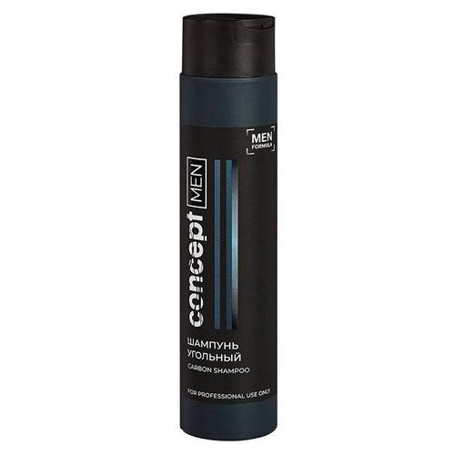 Concept Шампунь угольный для волос Carbon shampoo 300 мл (Concept, Men) шампунь угольный