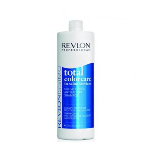 Revlon Professional Шампунь Антивымывание Цвета Без Сульфатов 1000 мл (Revlon Professional, Total color care) revlon шампунь anifading shampoo анти вымывание цвета без сульфатов 1000 мл