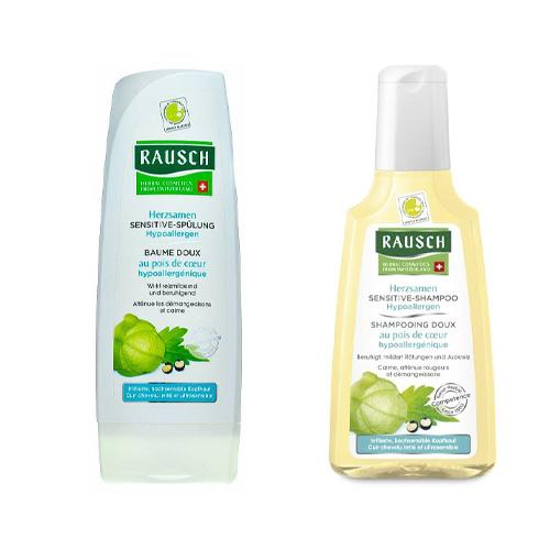 Купить Rausch Набор для чувствительной кожи головы: Шампунь 200 мл + Кондиционер 200 мл (Rausch, Рауш)