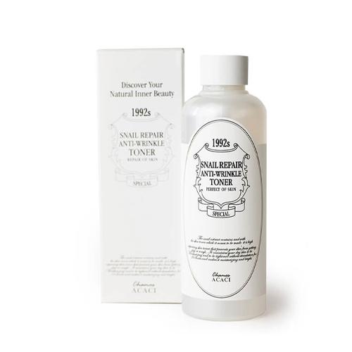 Купить Chamos Acaci Антивозрастной тоник против морщин с улиточным экстрактом Acaci 200 мл (Chamos Acaci, Для лица), Южная Корея