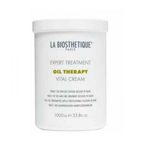 LaBiosthetique Маска для интенсивного восстановления поврежденных волос фаза 2 Vital Cream 1000 мл (LaBiosthetique, Oil Therapy), Франция  - Купить