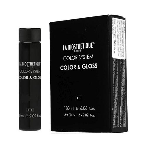 LaBiosthetique Тонирующий гель без аммиака Color & Gloss 3 х 60 мл (LaBiosthetique, Окрашивание)