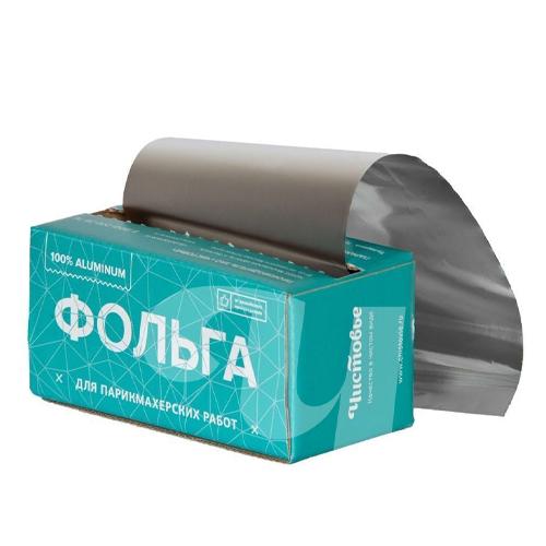 Купить Чистовье Фольга 18 мкр 12 см х 100 м серебро в коробке (Чистовье, Аксессуары и расходные материалы для парикмахеров)