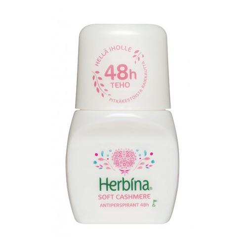BERNER Herbina шариковый Антиперспирант Кашемир 48 часов 50 мл (BERNER, Средства личной гигиены)