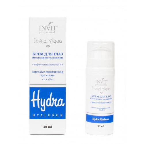 Invit Крем для глаз Интенсивное увлажнение с эффектом выработки HA 30 мл (Invit, Invitel Aqua)