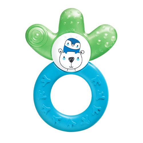 MAM Прорезыватель охлаждающий для зубов голубой 4+ месяцев (MAM, Уход за полостью рта и прорезыватели для зубов) недорого