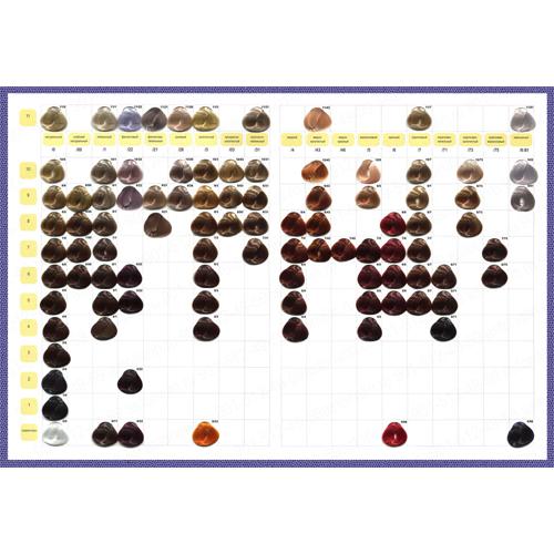 Ollin Professional Color - Палитра красителя (Ollin Professional, Окрашивание и осветление)