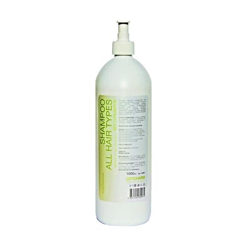 CITYCHARM PROFESSIONAL Шампунь для всех типов волос без сульфатный с бетаином Рh 5,0 -5,5, 1 л (CITYCHARM PROFESSIONAL, Шампуни)