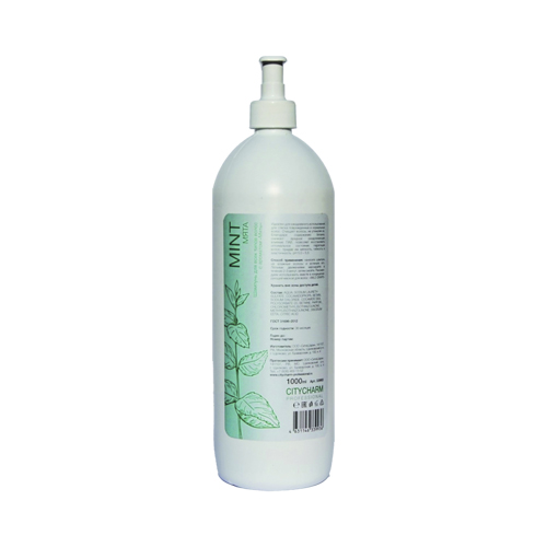 CITYCHARM PROFESSIONAL Шампунь для волос Мята Рh - 5,0 -5,5, 1 л (CITYCHARM PROFESSIONAL, Шампуни)