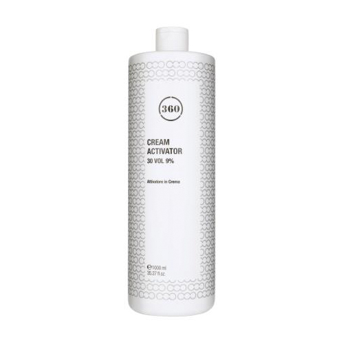 360 Окисляющая эмульсия Cream Activator 30 vol 9% 1 л (360, Окрашивание)