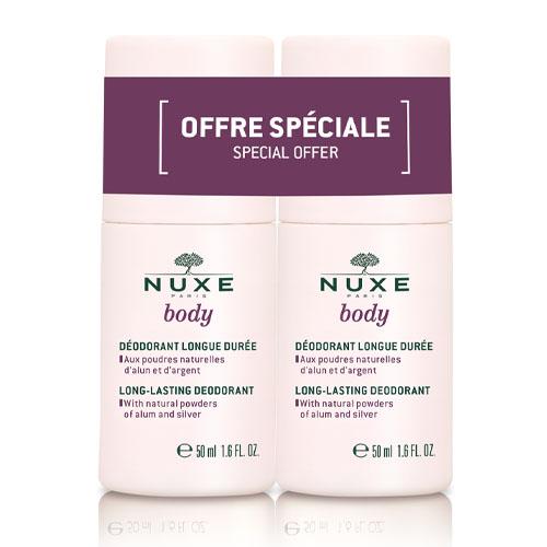 Nuxe Набор Сдвойка Шариковый дезодорант длительного действия 2*50 мл (Nuxe, Nuxe body)