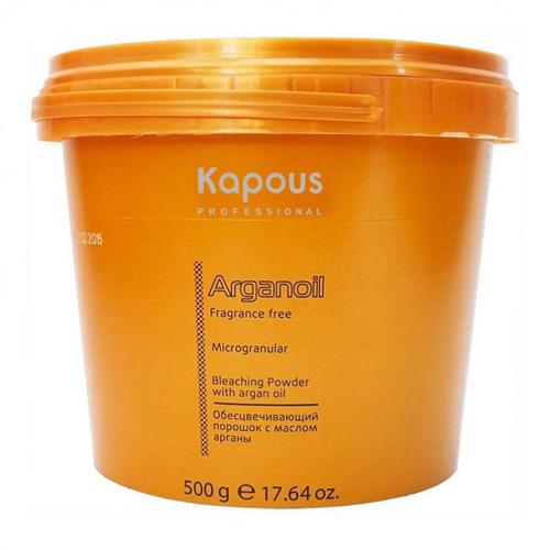 Купить Kapous Professional Обесцвечивающий порошок с маслом арганы Arganoil 500 гр (Kapous Professional, Fragrance free), Италия
