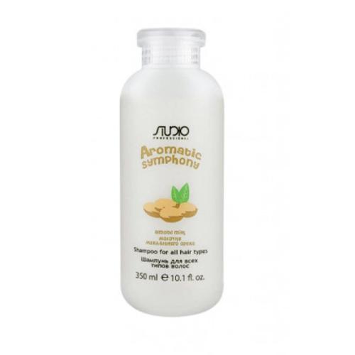 Купить Kapous Professional Шампунь для всех типов волос Молочко миндального ореха 350 мл (Kapous Professional, Kapous Studio), Италия
