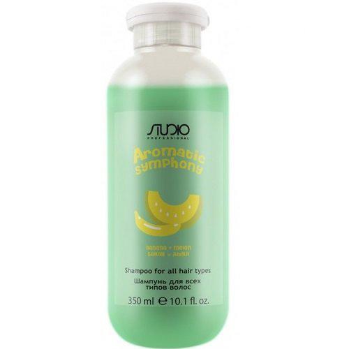 Купить Kapous Professional Шампунь для всех типов волос Банан и дыня 350 мл (Kapous Professional, Kapous Studio), Италия