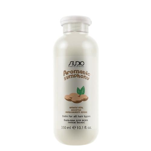 Купить Kapous Professional Бальзам для всех типов волос Молочко миндального ореха 350 мл (Kapous Professional, Kapous Studio), Италия