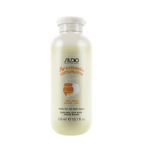 Купить Kapous Professional Бальзам для всех типов волос Молоко и мед 350 мл (Kapous Professional, Kapous Studio), Италия