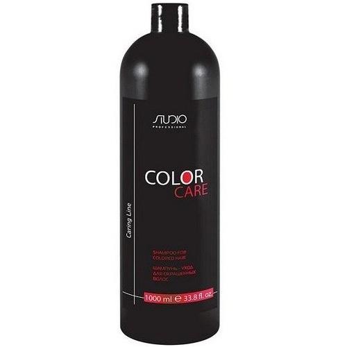 Купить Kapous Professional Шампунь-уход для окрашенных волос Color Care серии Caring Line 1000 мл (Kapous Professional, Kapous Studio), Италия