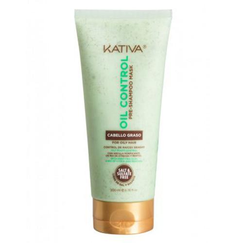Купить Kativa Маска Контроль перед мытьем шампунем для жирных волос 200 мл (Kativa, Oil Control), Перу