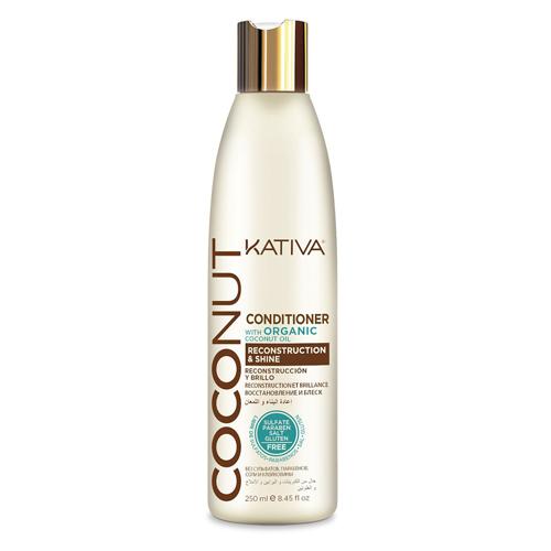 Купить Kativa Восстанавливающий кондиционер с органическим кокосовым маслом для поврежденных волос 250 мл (Kativa, Coconut), Перу