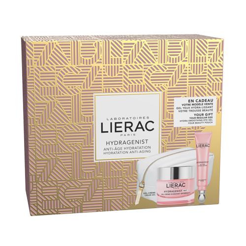 Lierac Крем кислородный увлажняющий 50 мл + Увлажняющий гель для контура глаз против морщин 15 мл (Lierac, Hydragenist) lierac набор для лица liftissime крем гель 50 200 мл