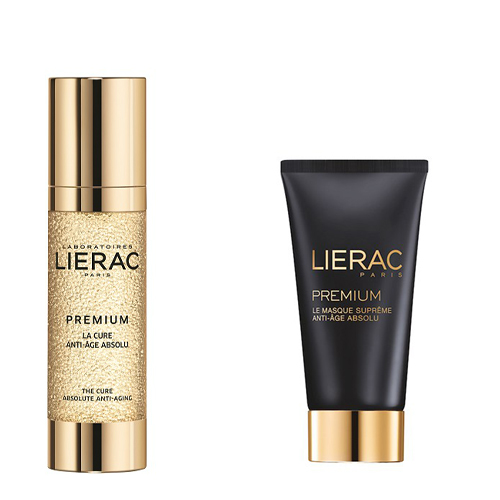 Lierac Премиум подарочный набор Интенсивный уход 28 дней, 30 мл+ Маска 75 мл (Lierac, Premium)