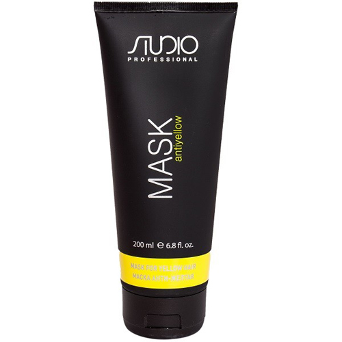 Купить Kapous Professional Маска для волос Анти-желтая Antiyellow 200 мл (Kapous Professional, Kapous Studio), Италия