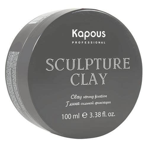Купить Kapous Professional Глина для укладки волос нормальной фиксации Sculpture Clay 100 мл (Kapous Professional), Италия