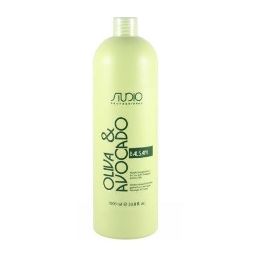 Купить Kapous Professional Бальзам увлажняющий для волос с маслами авокадо и оливы 1000 мл (Kapous Professional, Kapous Studio), Италия