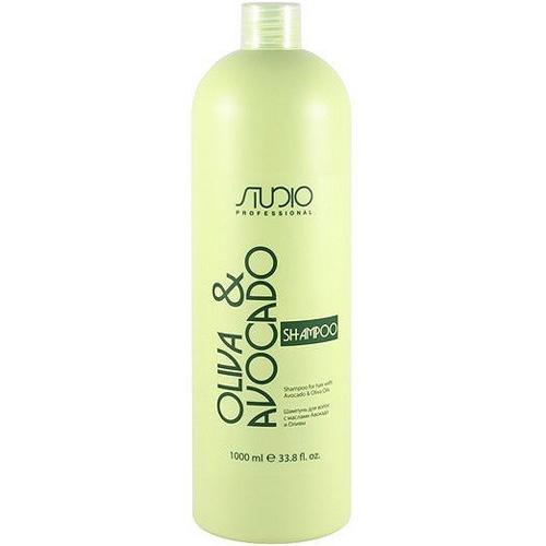 Купить Kapous Professional Шампунь увлажняющий для волос с маслами авокадо и оливы 1000 мл (Kapous Professional, Kapous Studio), Италия