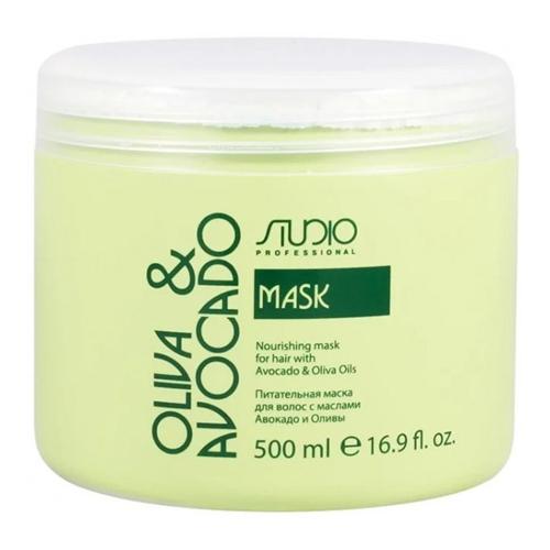 Купить Kapous Professional Маска увлажняющая для волос с маслами авокадо и оливы 500 мл (Kapous Professional, Kapous Studio), Италия