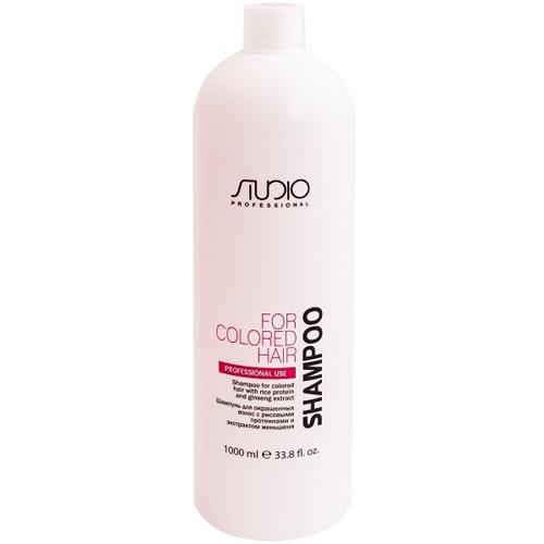 Купить Kapous Professional Шампунь для окрашенных волос с рисовыми протеинами и экстрактом женьшеня линии 1000 мл (Kapous Professional, Kapous Studio), Италия