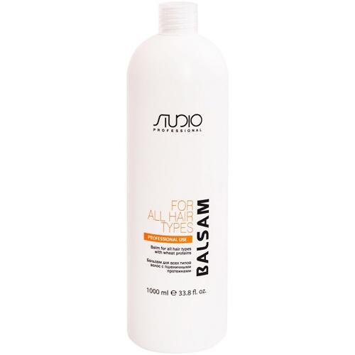 Купить Kapous Professional Бальзам для всех типов волос с пшеничными протеинами 1000 мл (Kapous Professional, Kapous Studio), Италия