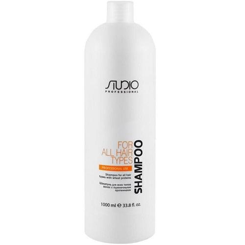 Купить Kapous Professional Шампунь для всех типов волос с пшеничными протеинами 1000 мл (Kapous Professional, Kapous Studio), Италия