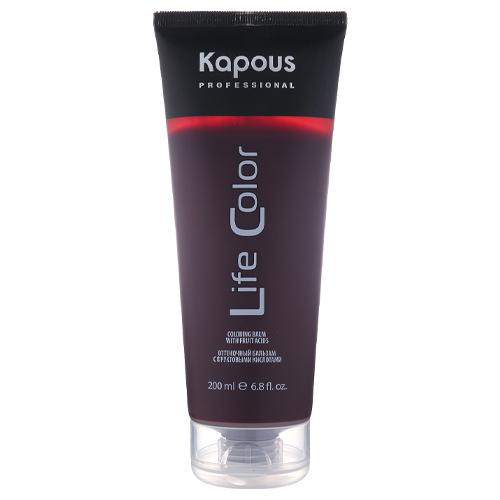 Купить Kapous Professional Бальзам оттеночный для волос Life Color Фиолетовый 200 мл (Kapous Professional), Италия