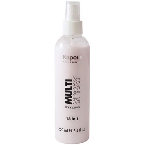 Kapous Professional Мультиспрей для укладки волос 18 в 1 Multi Spray 250 мл (Kapous Professional, Styling) мультиспрей для укладки волос kapous professional multi spray 18 в 1 250 мл