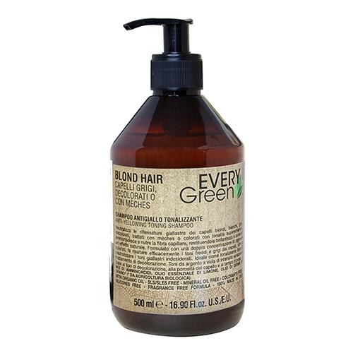 Купить Dikson Шампунь против желтизны двойной концентрации Antiyellow shampoo double concentration 500 мл (Dikson, EveryGreen)