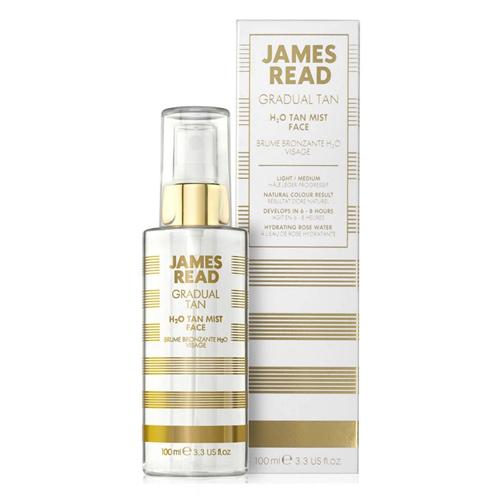 Фото - James Read Спрей для лица освежающее сияние H2O Tan Mist Face 100 мл (James Read, Gradual Tan) масло для автозагара james read self tan coconut dry tan body 100 мл