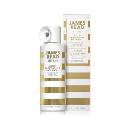 Фото - James Read Спрей-автозагар Instant Bronzing Mist Face & Body 200 мл (James Read, Self Tan) масло для автозагара james read self tan coconut dry tan body 100 мл