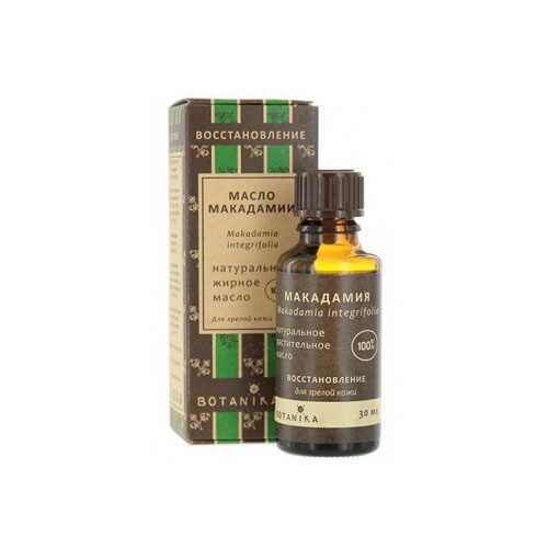 Купить Botavikos Косметическое натуральное масло 100 % Макадамия 30 мл (Botavikos, Жирные масла), Россия