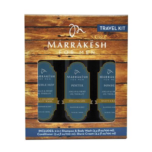 Купить Marrakesh Набор для мужчин: шампунь-гель для душа 2 в 1, крем для бритья, стайлинг-гель (Marrakesh, Для мужчин)