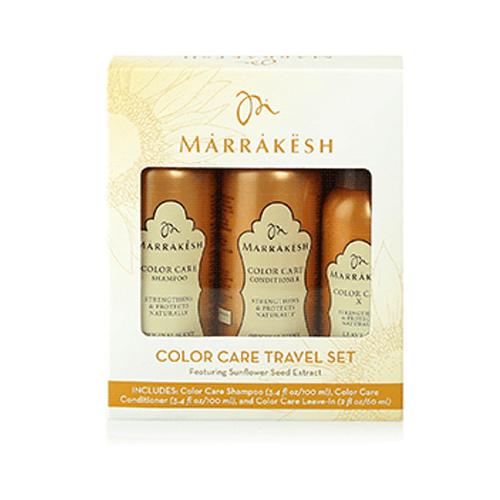Marrakesh Набор женский для окрашенных волос Шампунь для окрашенных волос, Кондиционер для окрашенных волос, Несмываемый спрей-кондиционер для окрашенных волос (Marrakesh, Уход за волосами)