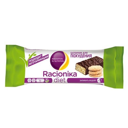 Racionika Диет батончик песочное печенье постный 50 г (Racionika, Racionika Diet)
